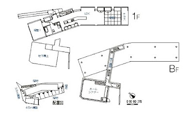 Plano arquitectónico de plantas de la vivienda