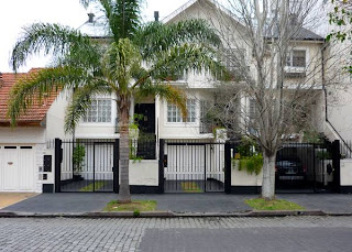 Palmera + casa