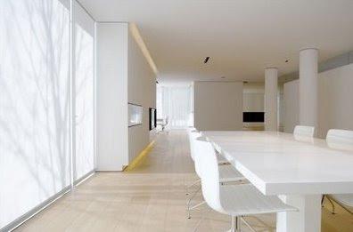 Arquitectura interior italiana contemporánea estilo Minimalista