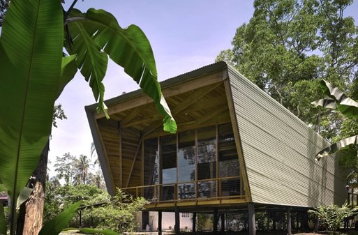 Casa Tropical moderna en Costa Rica