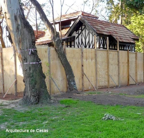 Arquitectura de casas restauraci n de chalet estilo anglo - Restauracion de casas ...