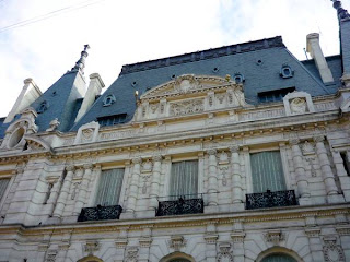 Remate de la fachada