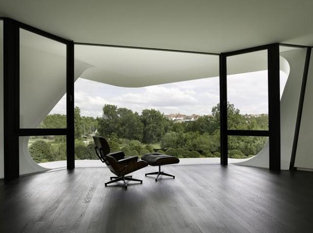 Vista de un ambiente en el interior de la residencia