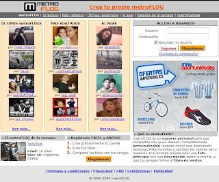 Portada de metroflog.com