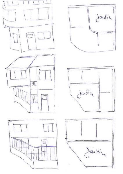 Arquitectura de casas casas residenciales en lote de esquina for Disenos de casas en esquinas