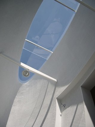 Baño de una casa prefabricada de diseño sofisticado