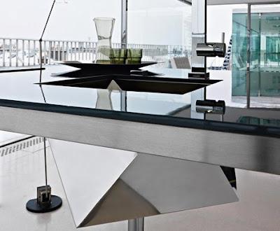 Fregadero de cocina poliedro