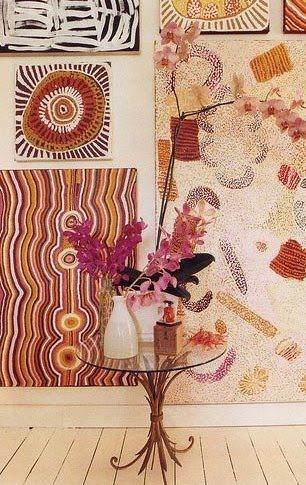 Cuadros adornos apartamento en Sydney, Australia