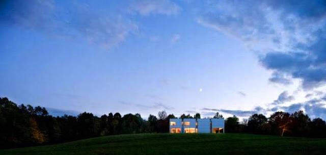 Residencia contemporánea en área rural próxima a Nueva York