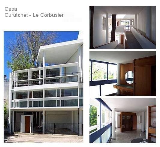 Fotos de la Casa Curutchet en La Plata, Buenos Aires, Argentina