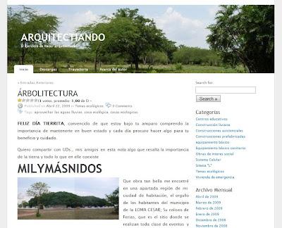Página de Arquitectiando