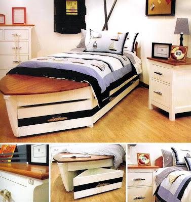 Dormitorio infantil diseño marinero
