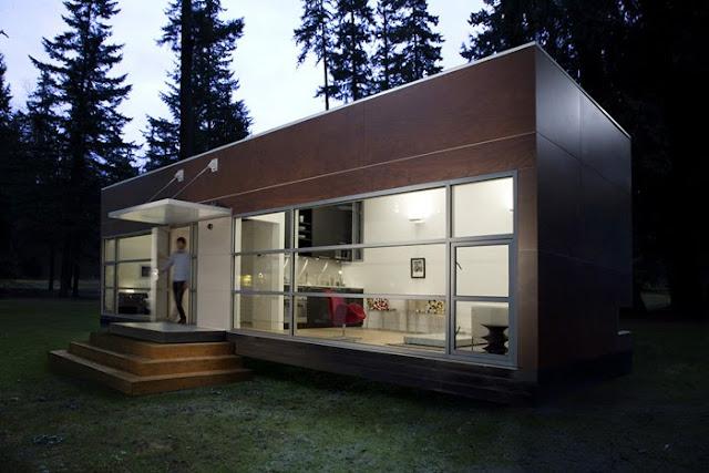 Arquitectura de casas casa prefabricada modular ecol gica - Casa prefabricada moderna ...
