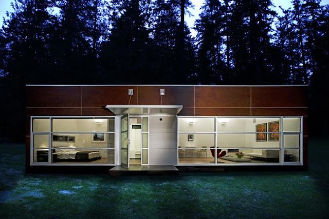 Arquitectura de casas casa prefabricada modular ecol gica - Casas modernas prefabricadas ...