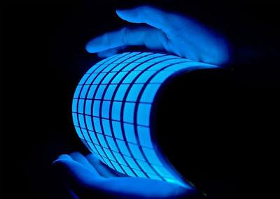 Lámina de LEDs orgánicos