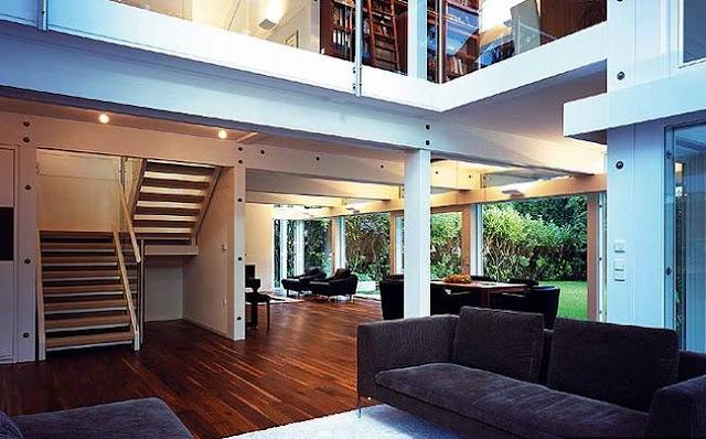 Espacio living, sala de estar, en el interior de residencia