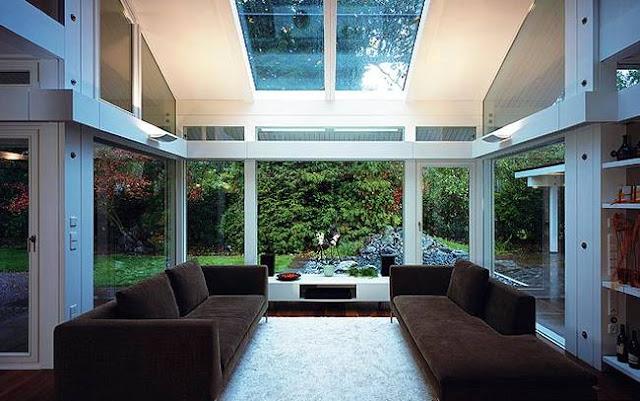 Interior de una residencia contemporánea alemana