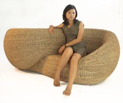 Mueble diseño cinta de Moebius