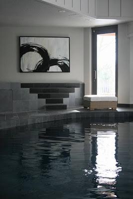 Detalle de la piscina
