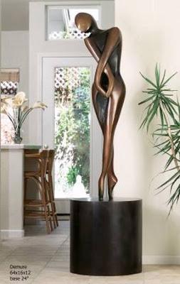 Escultura tamaño medio
