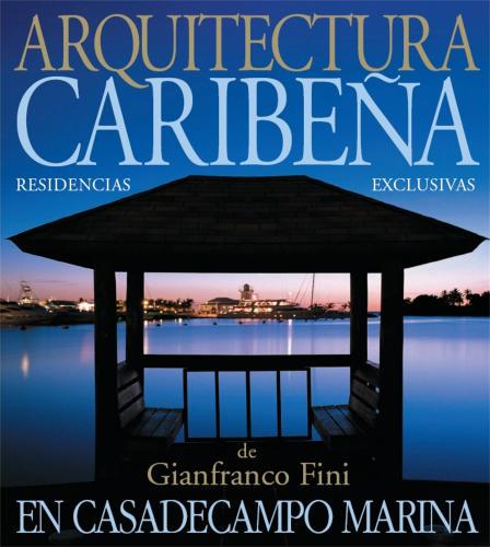 Ilustración de tapa de libro sobre arquitectura del Caribe