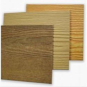 Placas cementicias muestras de siding de fibrocemento imitación madera