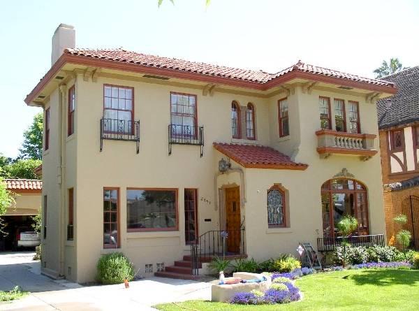 Arquitectura de casas casa residencial estilo - Casas de estilo italiano ...