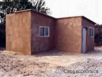 Casa económica hecha de Grancrete