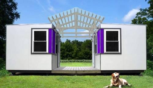 Cabinas dobles pequeñas - Micro casas