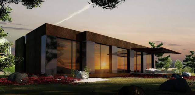 Arquitectura de casas casas modulares espa olas a cero - Viviendas modulares diseno ...