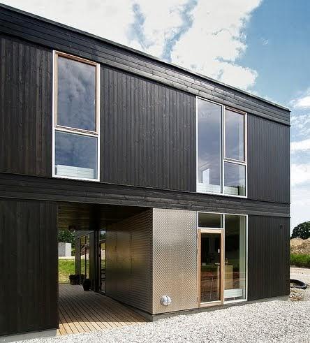 Arquitectura de casas casa modular de bajo costo dinamarca for Arquitectura modular