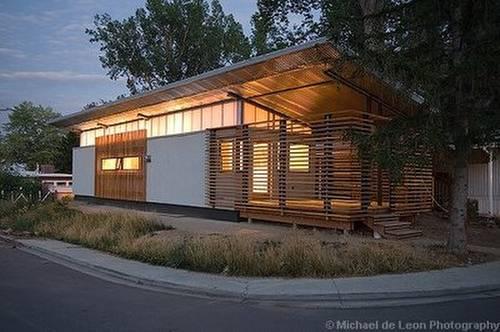 Casa trailer ampliada y modernizada