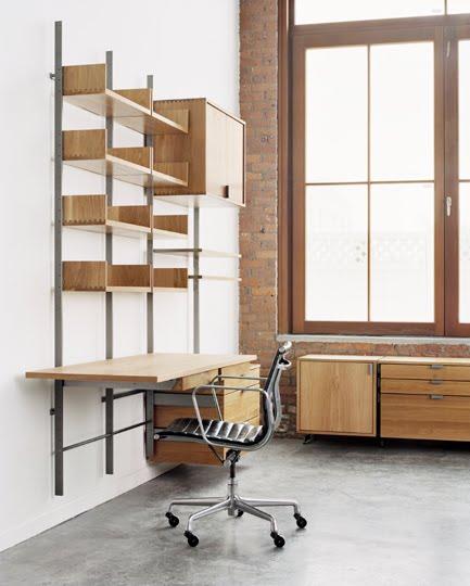 Arquitectura de casas estanterias met licas para interiores - Estanterias para escritorios ...