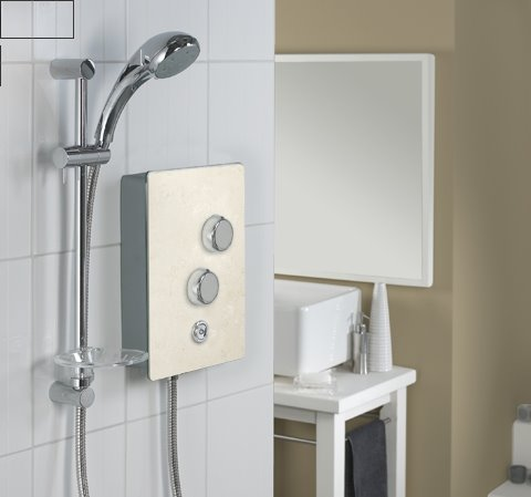 Arquitectura de casas ducha el ctrica moderna for Como instalar una regadera de bano