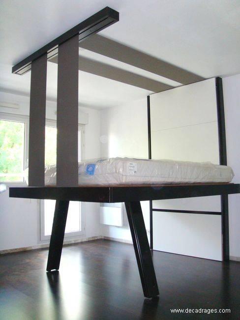 Arquitectura de casas originales camas abatibles francesas for Mueble que se hace cama