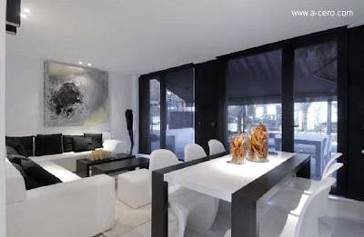 Interior de la vivienda modular