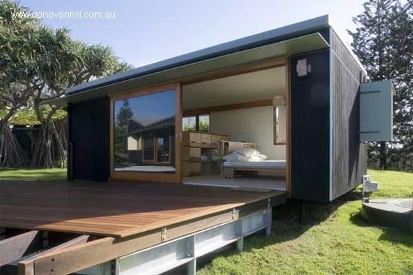 Arquitectura de casas prefabricada la vivienda familiar - Casas prefabricadas de hormigon modernas ...