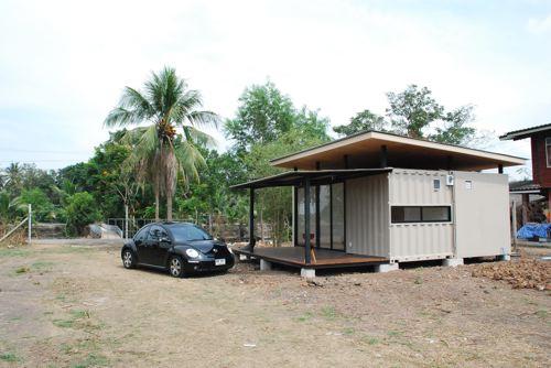 casa economica hecha con dos contenedores reciclados las casas