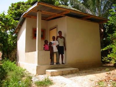 Casa pequeña económica para familias carenciadas
