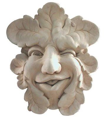 Máscara para decoración de jardines