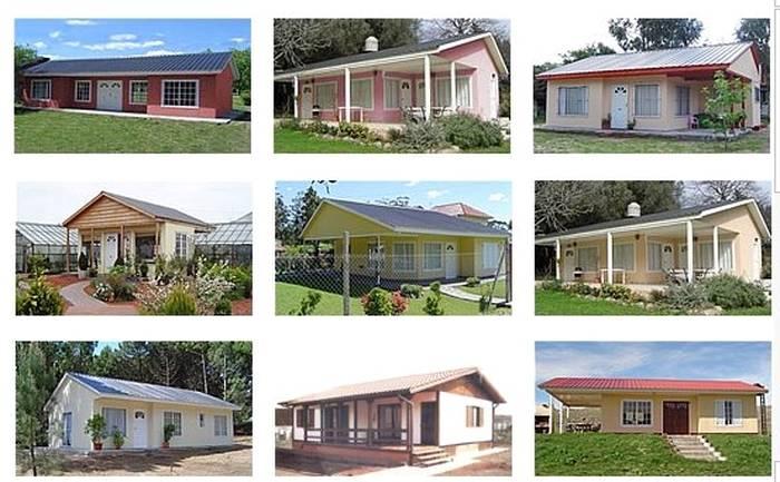 Arquitectura de casas viviendas prefabricadas producidas - Tipos de casas prefabricadas ...