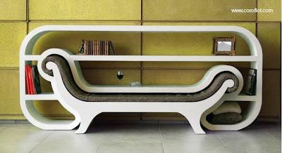 Mueble de diseño para interiores