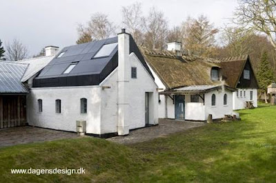 Propiedad rural parcialmente reciclada en Dinamarca