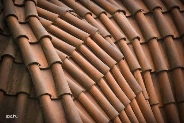 Techado cubierto de tejas