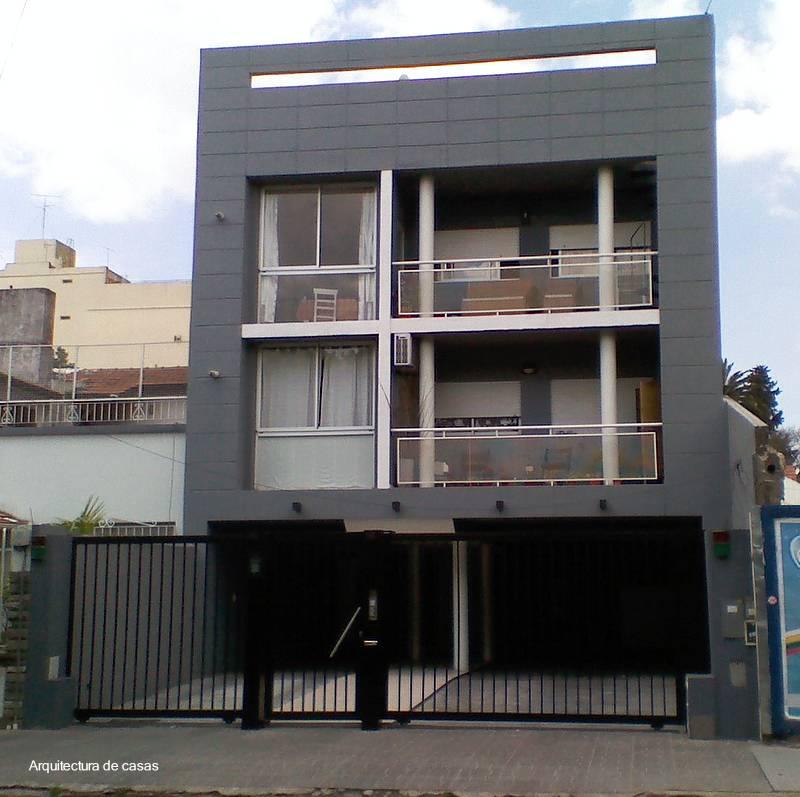 Arquitectura de casas moderno edificio urbano de for Apartamentos modernos minimalistas