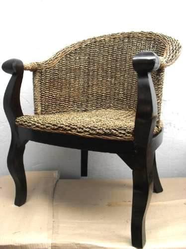 Arquitectura de casas muebles hechos con fibra de rat n - Sillas de fibra natural ...