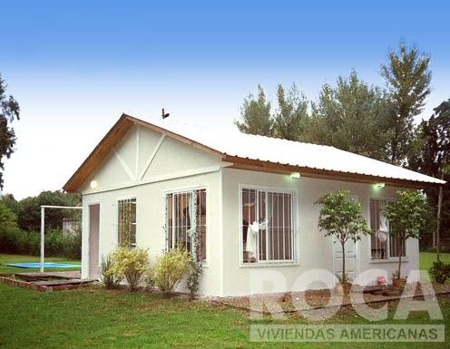 Modelo casa pre fabricada