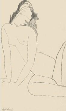 Desnudo Agachado