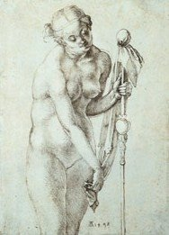 Desnudo femenino con bastón  (1468)