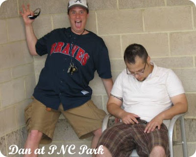 Dan and Super-Drunk-guy at PNC